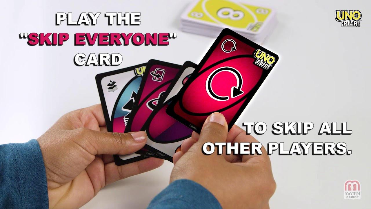 How to Play UNO FLIP!