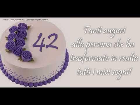 Auguri Buon Compleanno 42 Anni.Cartoline Animate E Musicali Buon Compleanno 42 Anni Youtube