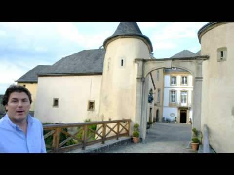 Schiltz presents Chateau Bourglinster in Luxembourg