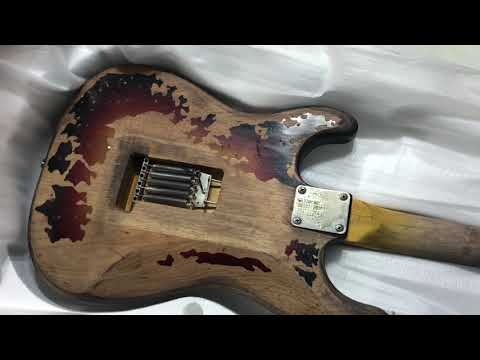 Stevie Ray Vaughan's number one guitar unboxing