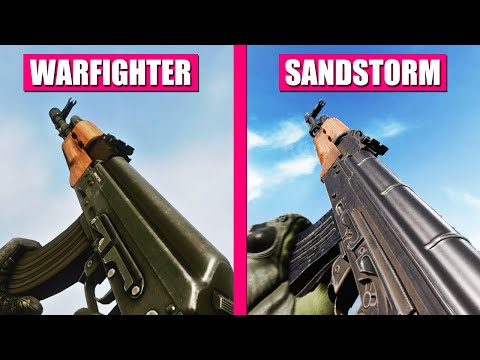 Insurgency Sandstorm vs Medal of Honor Warfighter - Weapons Comparison |