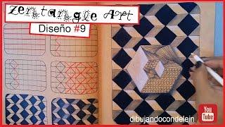 Zentangle Art Paso A Paso