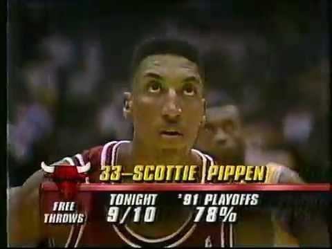 Bulls-Lakers, June 12, 1991 (NBA Finals Game 5 final ...