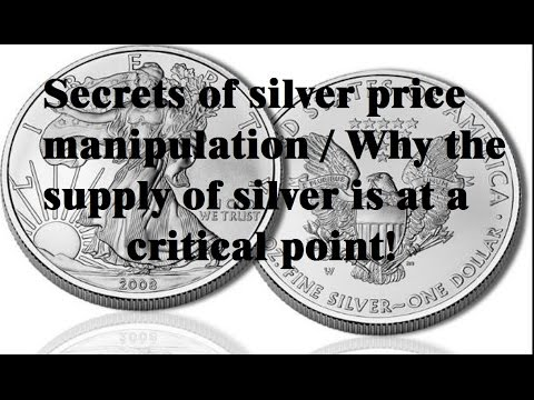 understanding why silver is suppressed - how are silver prices manipulated