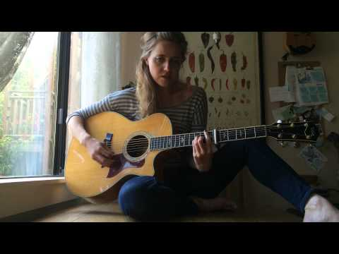 """America"" by Simon & Garfunkel - Cover by Megan Slankard"