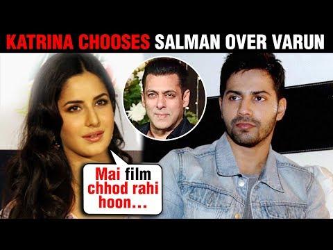 Katina kaif REJECTS Varun Dhawan Film, Chooses Salman Khan Bharat