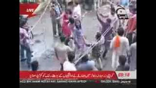 Hindu community happy holi day in pakistan