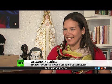 Entrevista con Alejandra Benítez, ministra para el Deporte en Venezuela