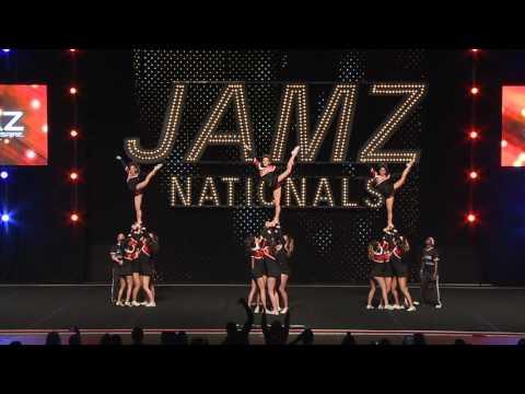 Los Gatos High School Competition Cheer 2016