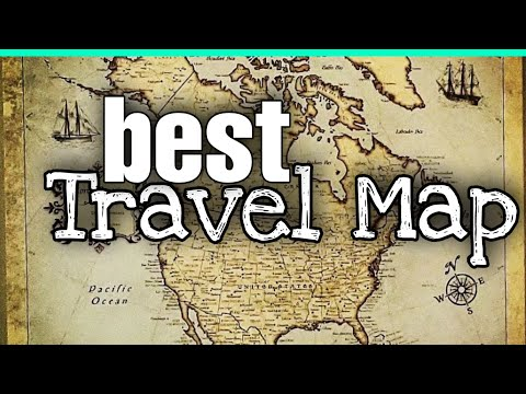 Conquest Maps | BEST TRAVEL map for home decor and travel planning !!!