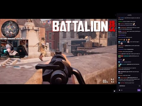 Summit1g's First Game of Battalion 1944