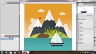Tutorial Animasi Sederhana Adobe Flash CS5