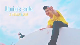 Gambar cover Wonho's smile, a miracle cure (Someone's Someone - Monsta X)