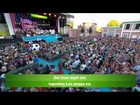 Allsång: Fotbollsmedley - Lotta på Liseberg (TV4)