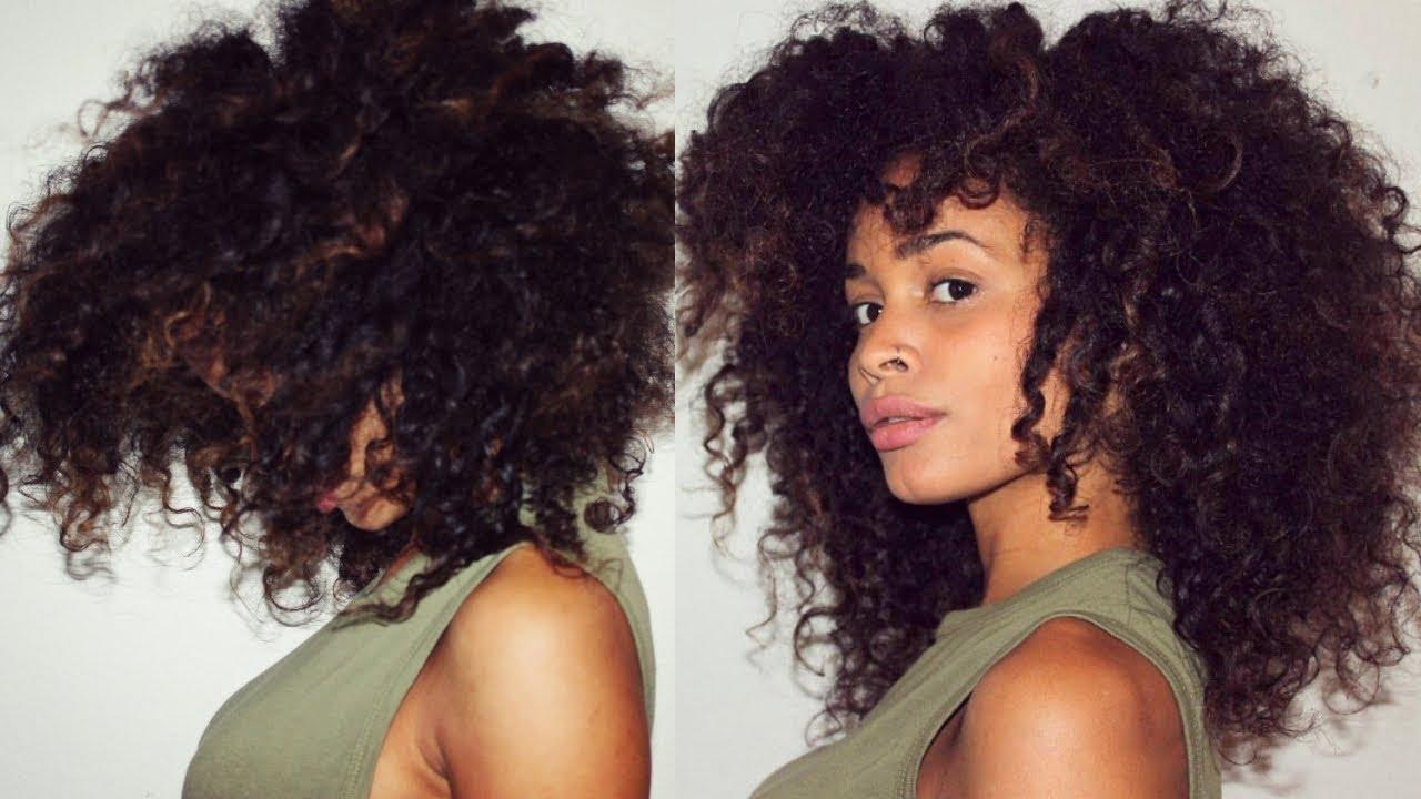Haare wachsen lassen locken