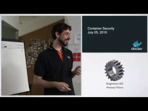 Container runtimes from a security perspective - DevSecOps Singapore