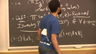 Algorithms for Big Data (COMPSCI 229r), Lecture 19