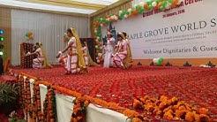 Saraswati Vandana Dance Performance || Choreographer by Samrat Jackslee