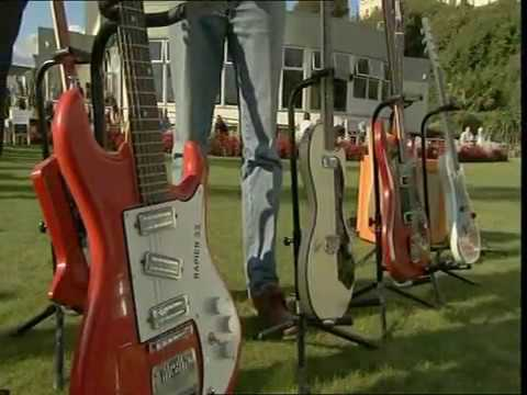 The Guitar Collection in 2007 on BBC TV's Antiques Roadshow!