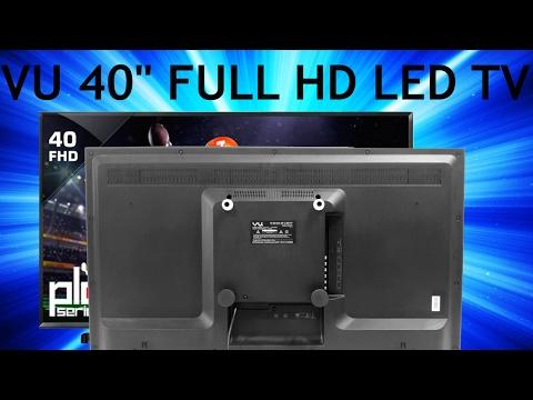 VU 102cm 40inch Full HD LED TV Full Review | 40D6575