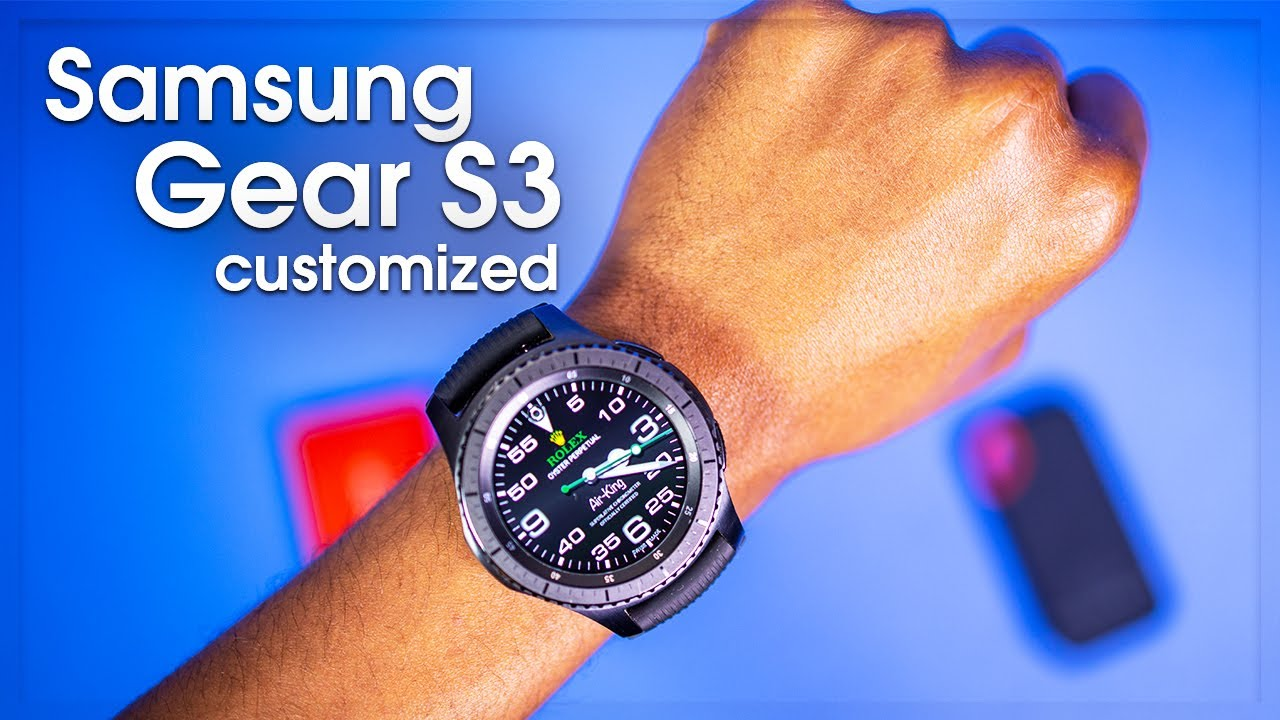 04e9aa873f1 Samsung Gear S3 Customizing with Watchmaker Facer and Amazon Watch bands