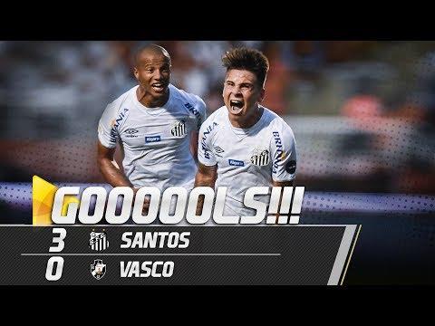 SANTOS 3 X 0 VASCO | GOLS | BRASILEIRÃO (12/05/19)