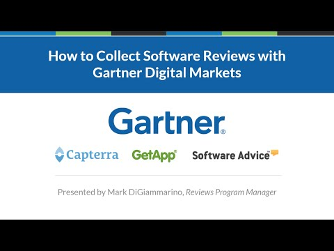 How to Collect Software Reviews with Gartner Digital Markets