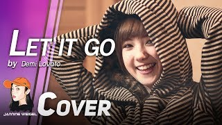 Repeat youtube video Let It Go (OST.Frozen) - Demi Lovato cover by Jannine Weigel
