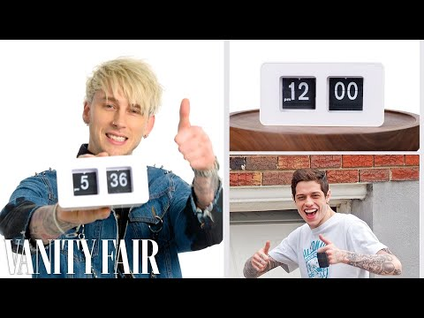 Everything Machine Gun Kelly Does In A Day On Set | Vanity Fair