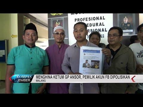 Menghina Ketua GP ANSOR, Pemilik Akun FB Dipolisikan