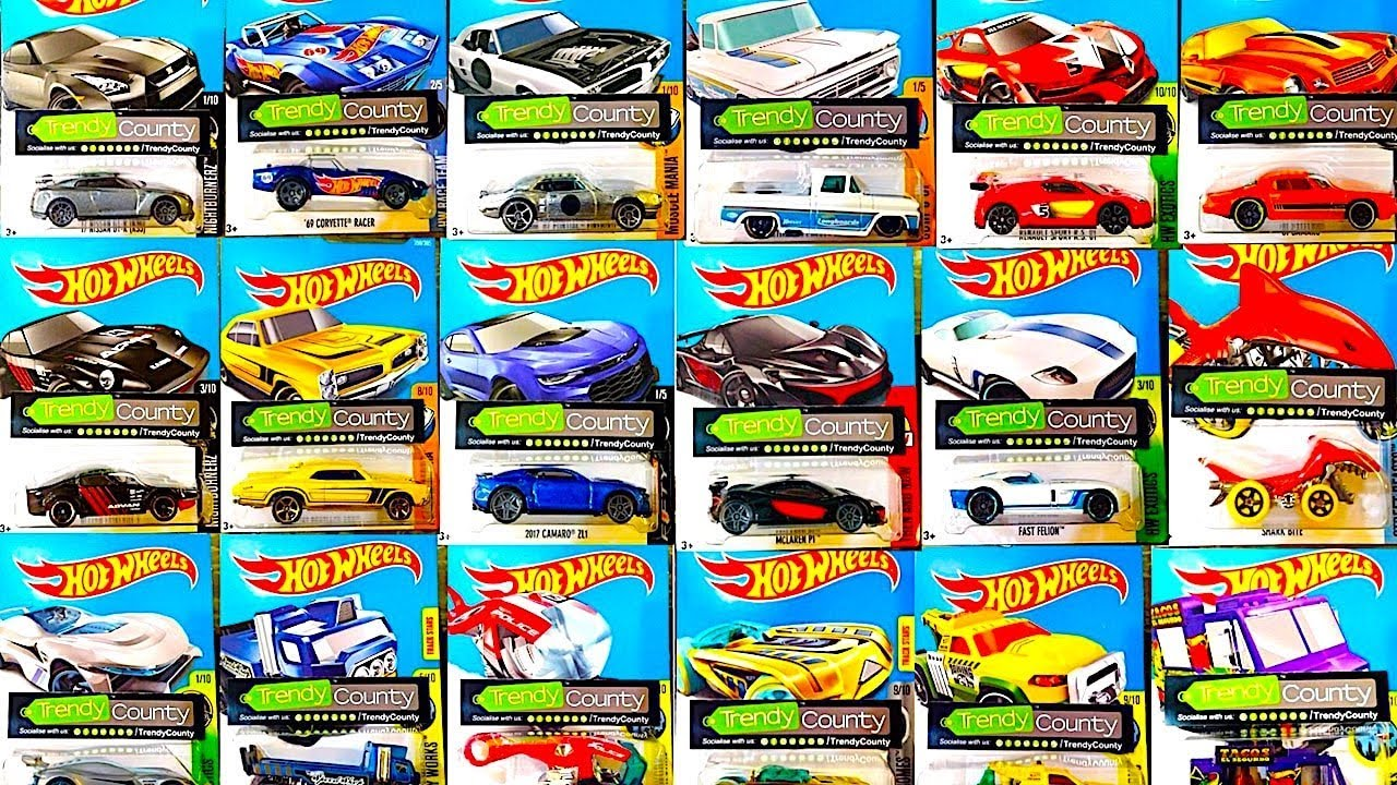New Hot Wheels Q Case Cars And More 2018 Models Youtube