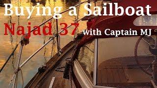 Sailing Scarlet - Boat Survey (Najad 37)