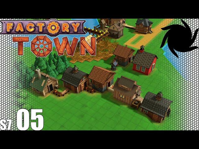 Factory Town - S07E05 - Cloth Conveyor Belt Production Line