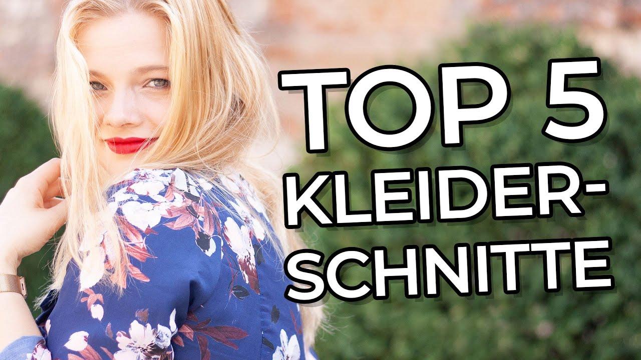 Kleiderschnitte: Meine Top 5