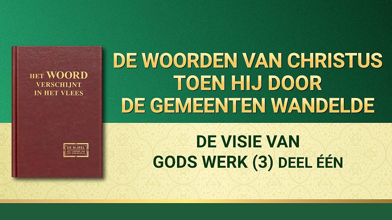 Gods woorden 'De visie van Gods werk (3)' (Deel één)
