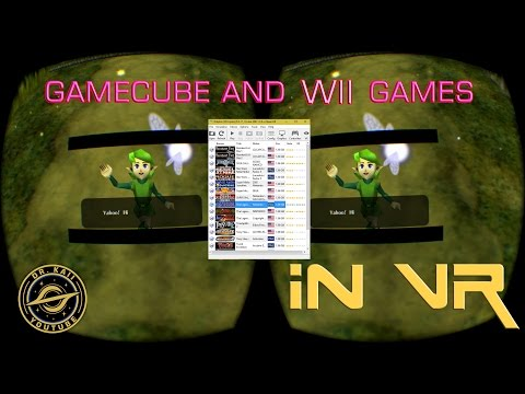 How to get Zelda and other Gamecube / Wii Games in VR