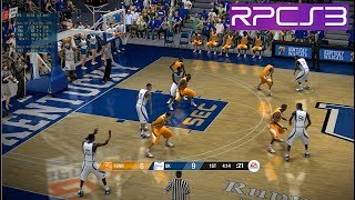 PS3 NCAA Basketball 09 demo PC 60fps HD RPCS3 emulator (EA Sports)