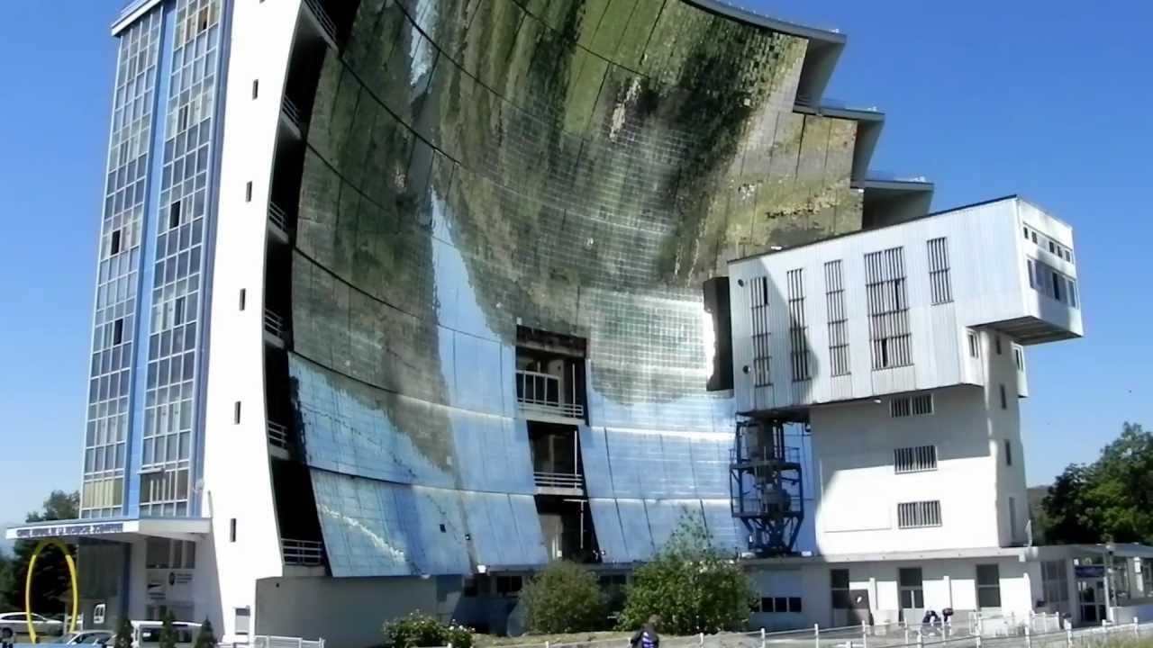 Solar Furnace - Le four solaire d'Odeillo - YouTube