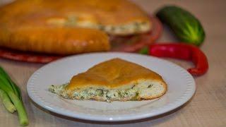 Пирог с сыром и зеленью осетинский