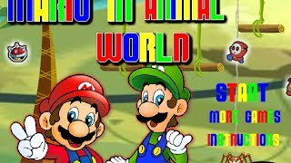 MARIO IN ANIMAL WORLD Level 1-10 Walkthrough