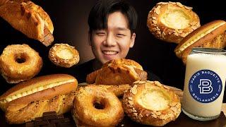 파리바게트 빵 인기메뉴 먹방 ❤ 크로와상 도넛 고구마 …