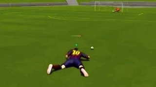 Messi Caught Humping The Pitch & More Funny FIFA 14 Glitches