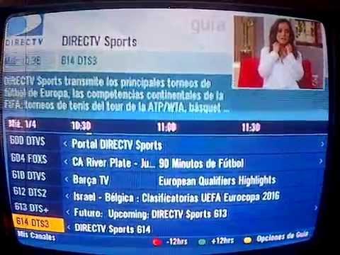 Interfaz Gu 237 A De Programaci 243 N Directv Prepago Colombia 1