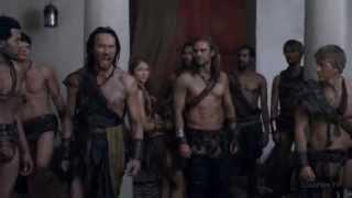 Спартак:Война Проклятых 3 серия (Отрывки)