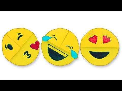 Emoji DIY Bookmark Corners 😜Easy Bookmark Ideas (Paper Crafts) [Life Hacks]