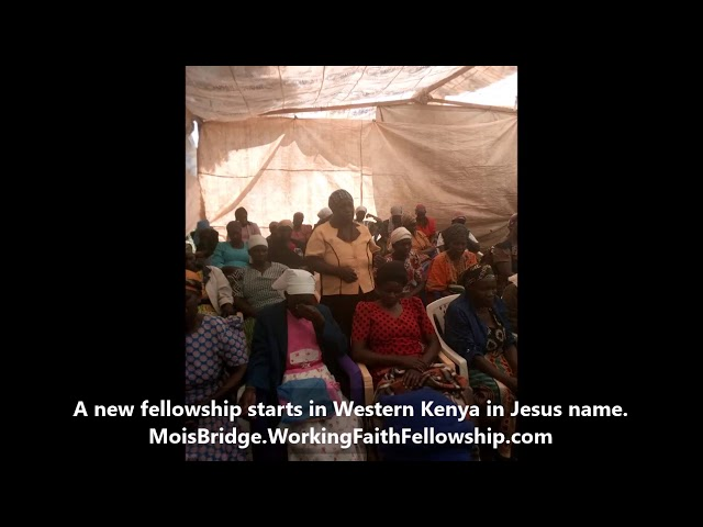 A New Fellowship Starts in Western Kenya