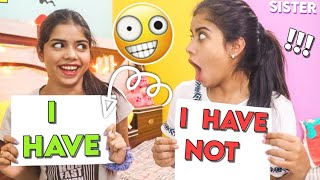 Never Have I Ever Challenge With My SISTER! *secrets revealed*