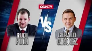 Fellner! LIVE : Fußi vs. Grosz - Schlagabtausch zur Kneissl-Hochzeit