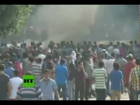 Video: Violence sweeps Cairo as clashes erupt outside US embassy (Live Cut)