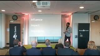 Onyi Anyado | Global Leadership Speaker | Futurist | speaking to #CEO's in Sweden